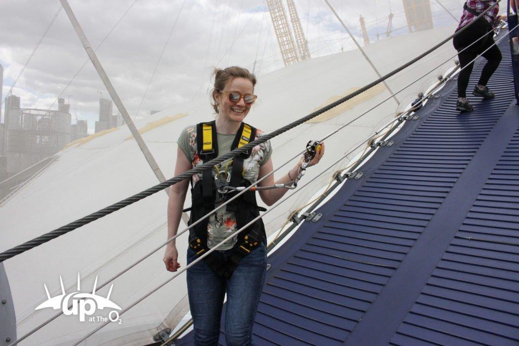 The O2 Challenge with Up at The O2 - Emma Langridge