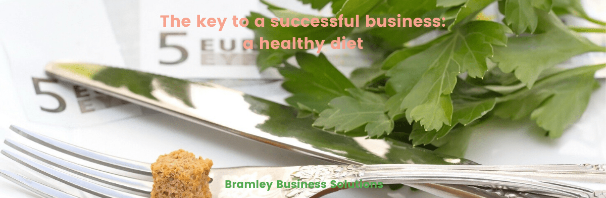 The key to business success: a healthy diet.